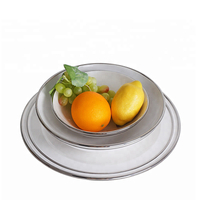 Ceramic Dinnerware Set Dinner Plates Set Porcelain with Ceramic Eco Friendly Food Bowl