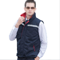 Men's Thickened Winter Vest Protective Clothing Men