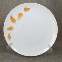 hotel restaurant used ceramic plate charger plate dishes