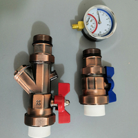 Multifunctional Valve Set for Floor Heating Water Separator