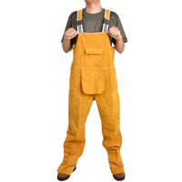 Spot Cowhide Welding Flame-retardant Clothing