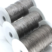 Imported Material Silver-plated Fiber Conductive Electrostatic Rope Metal Rope