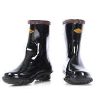 Insulated Boots Protective Shoes Electrician Tube Boots Short Tube Protective Insulation