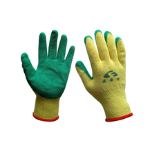Oil-resistant Anti-skid And Anti-cut Latex Coated Gloves