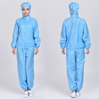 Anti-static Split Hooded Overalls Clean Suit