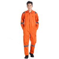 Thickened Cotton Fireproof One-piece Flame Retardant Clothing