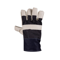Anti-spark Splash Artificial Leather Welding Gloves