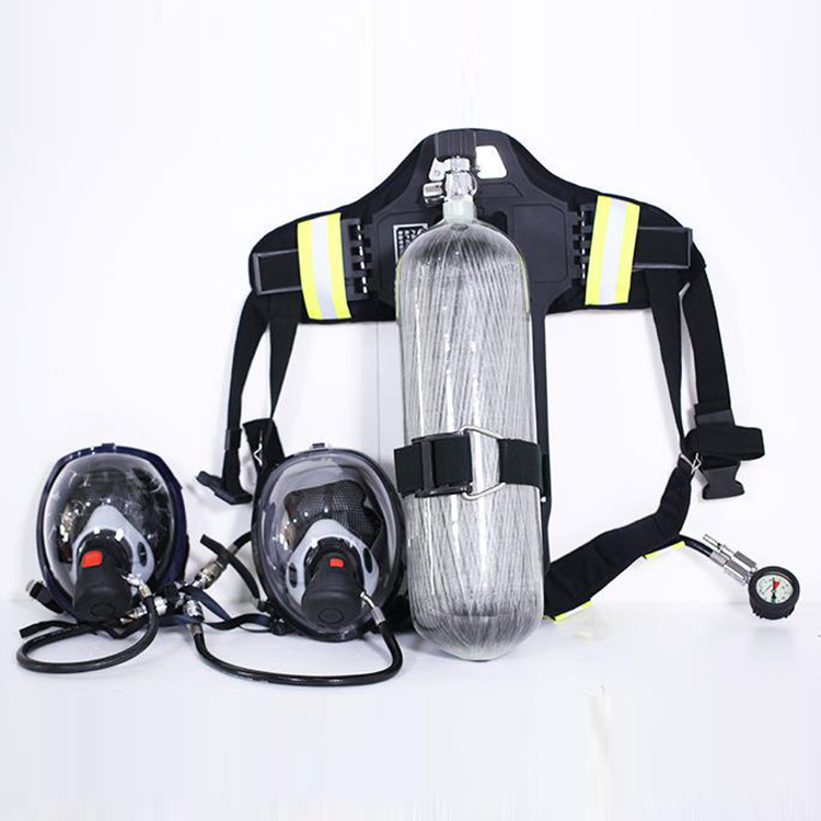 He Rescue Air Carbon Fiber Respirator