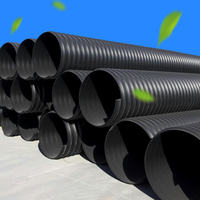PVC-U Solid Wall Spiral Silencer Drainage Pipe