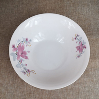 white porcelain 9 inch soup bowl for daily use