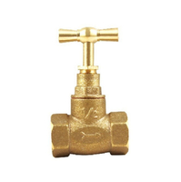 Factory Direct Supply 1/2, 3/4 Concealed Globe Valve