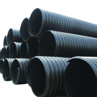 HDPE steel strip tube